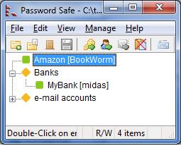 Password Safe full screenshot